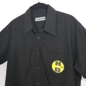 Harley-Davidson Button-up Short-Sleeved Shirt